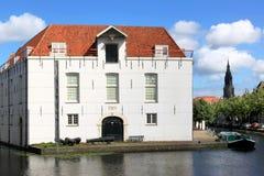 Museu do exército, louça de Delft, Países Baixos Fotos de Stock Royalty Free