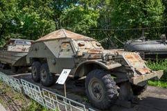 Museu do exército polonês - BTR-152 Imagens de Stock Royalty Free