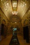 Museu do forte de Mehrangarh em Jodhpur, Índia foto de stock