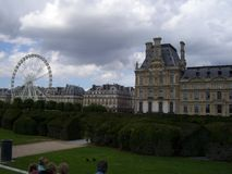 Museu do museu do Louvre em França imagem de stock royalty free