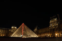 Museu do Louvre em Paris do francês Fotografia de Stock Royalty Free
