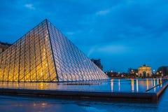 Museu do Louvre, France Fotografia de Stock Royalty Free