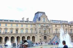 Museu do Louvre - Paris Imagens de Stock Royalty Free