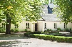 Museu do lugar de nascimento de Zelazowa Wola - de Frederic Chopin Fotos de Stock Royalty Free