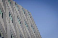 Museu do megohm de Genebra com céu azul Foto de Stock Royalty Free