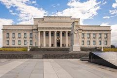 Museu do memorial de guerra de Auckland imagens de stock