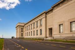 Museu do memorial de guerra de Auckland foto de stock