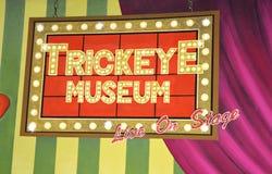 Museu do olho do truque Fotos de Stock Royalty Free