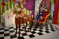 Museu do olho do truque em Singapura Imagens de Stock Royalty Free