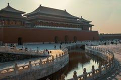 Museu do palácio no Pequim Imagens de Stock Royalty Free