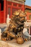 Museu do palácio no Pequim Fotos de Stock Royalty Free