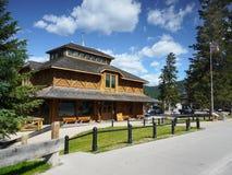 Museu do parque de Banff Fotografia de Stock Royalty Free