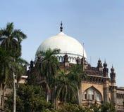 Museu do príncipe de Gales da Índia ocidental em Mumbai, Índia sul foto de stock