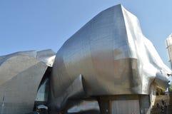 Museu do projeto da música da experiência em Seattle Imagem de Stock
