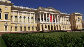 Museu do russo do estado em St Petersburg 4K filme
