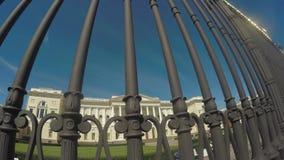Museu do russo do estado no verão vídeos de arquivo