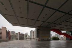 Museu do T?quio Edo City History Museum Marco arquitet?nico do T?quio foto de stock