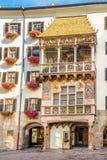 Museu do telhado do ouro em Innsbruck - Áustria Fotografia de Stock