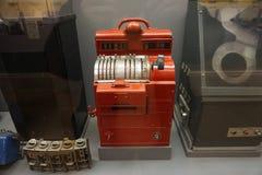 Museu 83 do trânsito de New York foto de stock
