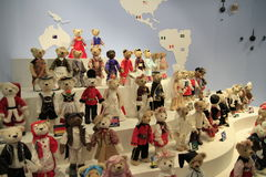 MUSEU DO URSO DA PELUCHE Imagens de Stock Royalty Free