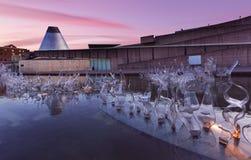 Museu do vidro imagens de stock