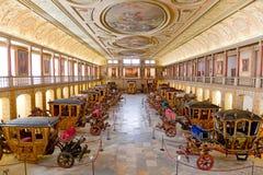 Museu dos Coches Lisbon Stock Image