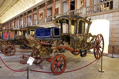 Museu dos Coches Lisbon Zdjęcie Stock