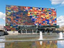 Museu dos meios em Hilversum, Holanda Fotografia de Stock