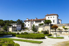 Museu e jardins de Vizcaya em Miami, Florida Imagem de Stock