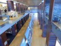 Museu em Clinton Presidential Center em Little Rock do centro Foto de Stock