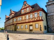 Museu em Marktbreit, Alemanha fotografia de stock