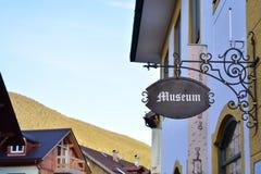 Museu em Oberammergau fotografia de stock