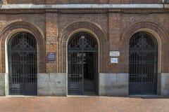 Museu entrado Fotografia de Stock