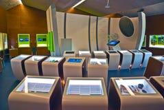 Museu europeu Schengen, interior Imagem de Stock