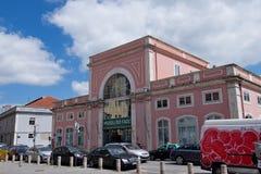 Museu gör Fado/Fadomuseet Fotografering för Bildbyråer