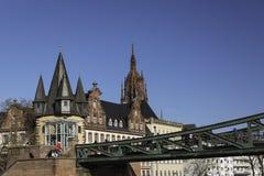 Museu histórico Francoforte fotografia de stock