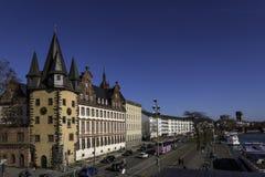 Museu histórico Francoforte - am - cano principal imagens de stock royalty free