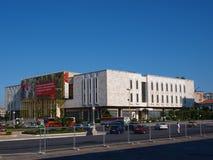 Museu histórico nacional, Tirana, Albânia Fotografia de Stock