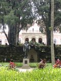 Museu imperial de Petropolis imagem de stock