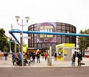 Museu interativo de Berlim, Alemanha Berlin Wall da guerra fria Foto de Stock Royalty Free