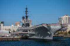 Museu intermediário de USS foto de stock
