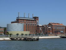 Museu Lisboa - Portugal de Eletricity Imagens de Stock Royalty Free