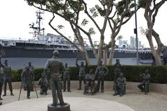 Museu marítimo de San Diego Foto de Stock Royalty Free