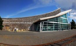 Museu marítimo do Rio Columbia, Astoria Oregon Fotografia de Stock
