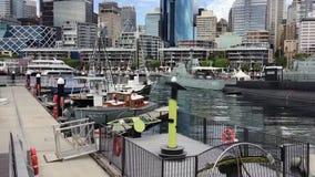 Museu marítimo nacional australiano, Sydney, Austrália vídeos de arquivo