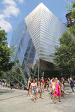 Museu memorável do 11 de setembro nacional o 11 de setembro Memorial Park Fotos de Stock Royalty Free