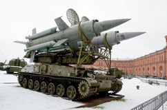 museu Militar-histórico da artilharia Fotografia de Stock