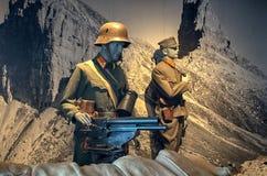 Museu militar no Hohensalzburg fotos de stock