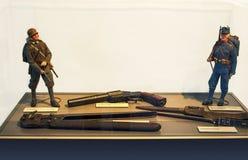 Museu militar no Hohensalzburg imagem de stock royalty free