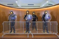 Museu Militar på Macao Arkivbild
